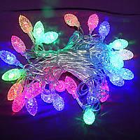 Новогодняя гирлянда Шишки 28 LED 3,5 м