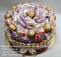 """Торт из шоколада и конфет""""Сладкий ларец"""", фото 1"""