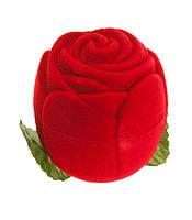 Футляр бархатный Роза маленькая