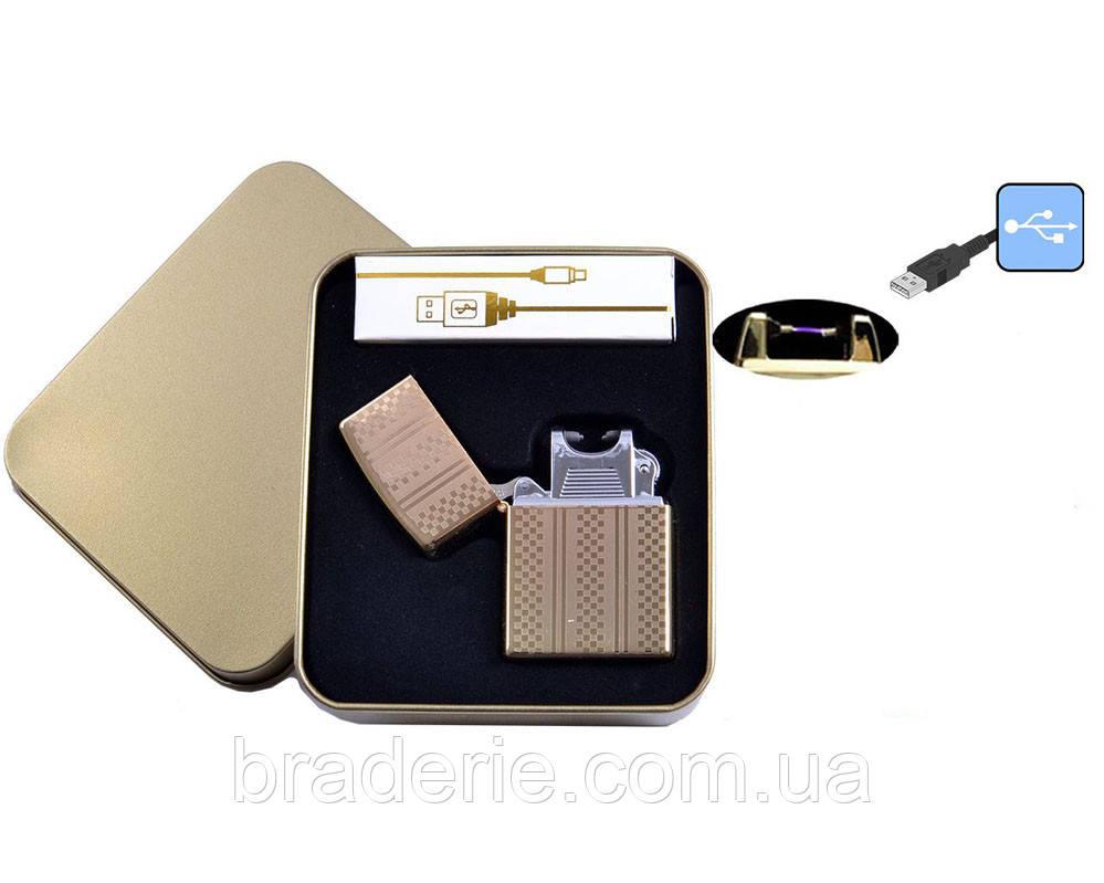 Электроимпульсная USB зажигалка 4706-3