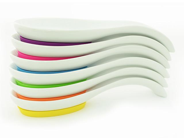 Подставка из керамики 24х9х4см для ложки Fissman