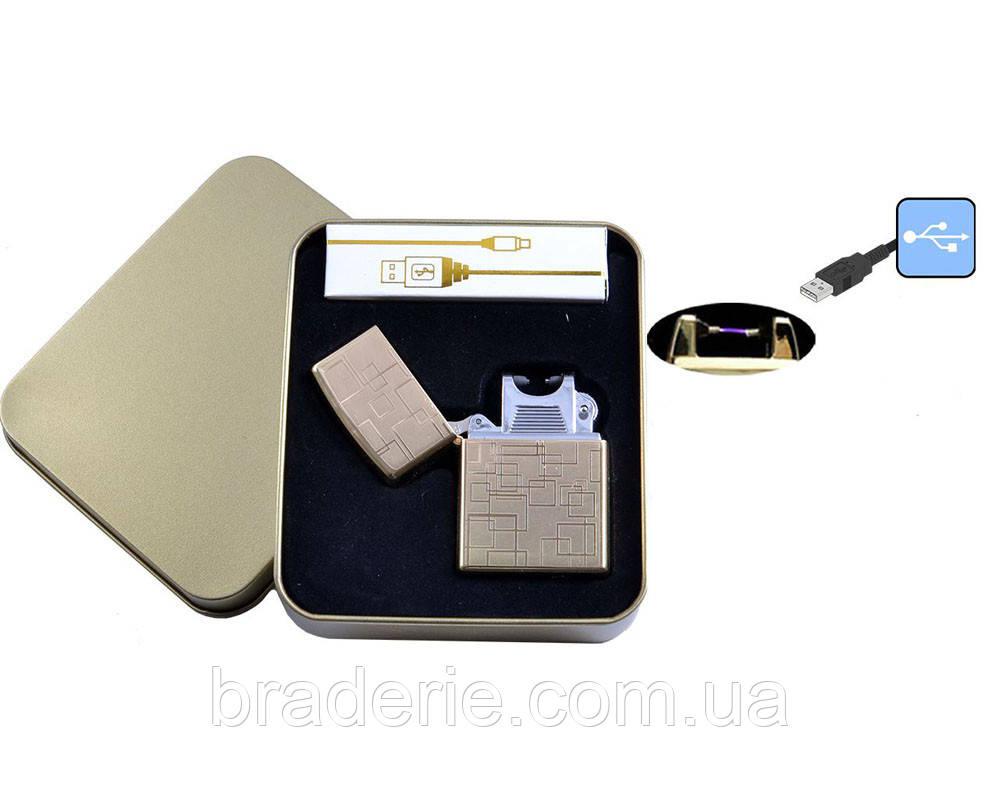 Электроимпульсная USB зажигалка 4706-5