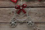Новогодняя игрушка на елку карета золушки, фото 2