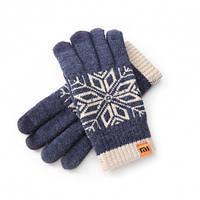 Перчатки Xiaomi синие мужские