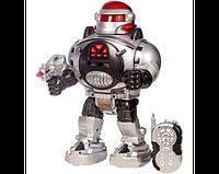 Подвижный робот со световыми эффектами  на р/у М 0465