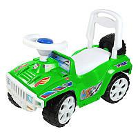 Машинка для катания зеленая