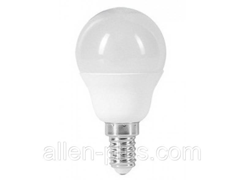 Лампа светодиодная LED LUXEL 051-H G45 3000K (E14 / 7W)