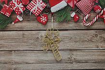 Новогодняя игрушка на елку сладкий леденец