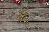 Новогодняя игрушка на елку сладкий леденец, фото 2