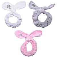Cute Big Rabbit Ear Soft Towel Hair Band Повязка для волос