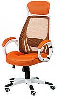 Кресло офисное Briz orangе/whitе
