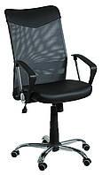 Кресло АЭРО НВ  Line сиденье Сетка черная, Неаполь 20 спинка/ спинка Сетка серая