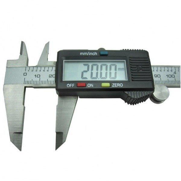 Штангенциркуль электронный digital caliper сv - фото 1