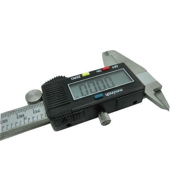 Штангенциркуль электронный digital caliper сv - фото 4