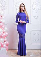 Коктейльное платье женское макси