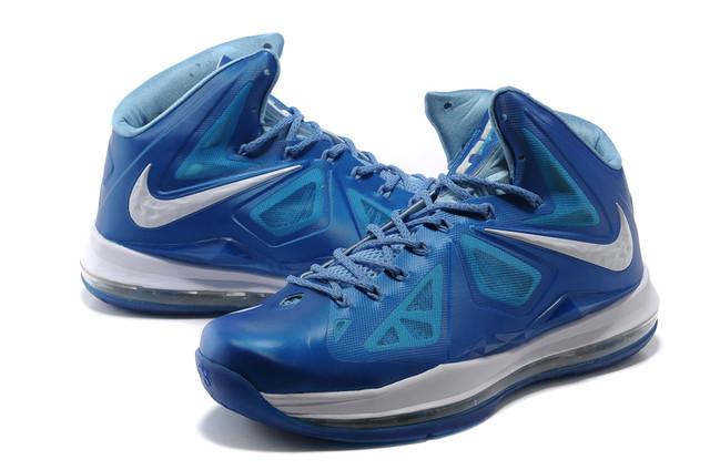 Баскетбольные кроссовки Nike Lebron 10