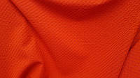 Трикотаж-люрикс цвет морковный