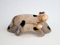 Статуэтка Коровы керамика
