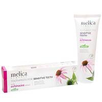 Зубная паста Эхинацея для чувствительных зубов Melica Organic 100 мл