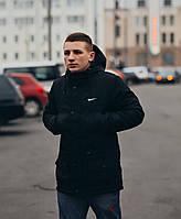 Мужская зимняя парка в стиле Nike