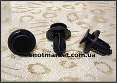 Нажимное крепление бампера Nissan (бампер). ОЕМ: 57728AC090, 01553-09241, 0155309241