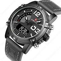 Мужские часы Naviforce Life, модель NF9095bwgy, цвет корпуса черный