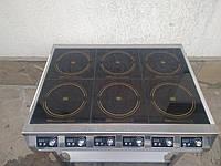 Плита индукционная  на 6 конфорки ПИ-6 ТСХ