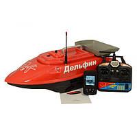 Прикормочный кораблик Дельфин 3S + GPS с эхолотом Lucky FF718LiW