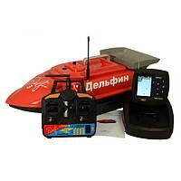 Прикормочный кораблик Дельфин 3 PRO + GPS с эхолотом Lucky FF918-WL2