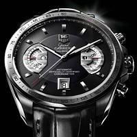 Часы Tag Heuer Grand Carrera calibre 17 Silver, механические, мужские