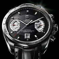 Часы Tag Heuer Carrera calibre 17 Silver, механика, мужские