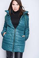 Куртка 22800 Большой Размер Женская зеленый, 48