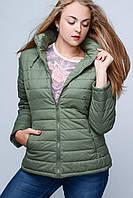 Куртка   22951 Большой Размер Женская 52, хаки