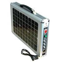 Портативная система электропитания на солнечных батареях portable solar power system 15 w, фото 1