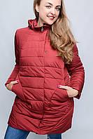 Куртка -22929 Большой Размер Женская бордовый, 52