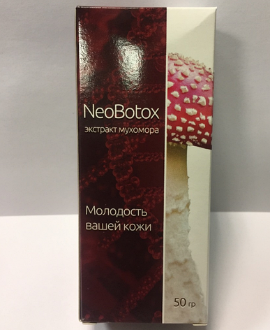 NeoBotox - крем омолаживающий с экстрактом Мухомора (НеоБотокс), фото 2