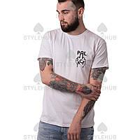 Palace finger-up-skate - футболка белая | Бирка оригинал