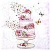 Салфетка Свадебный торт 2-7975
