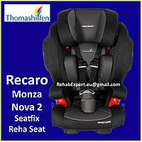 Безопасное Автокресло Thomashilfen Recaro Monza Nova 2 REHA Seat 15-50 kg, фото 1