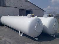 Газовая Емкость наземная с бок. люком 400мм 9,15м3 производства VPS, Deltagaz Чехия