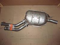 Глушитель центральный MERCEDES E200 (Производство Polmostrow) 13.29