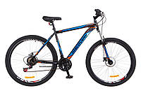 """Велосипед 29"""" Discovery Trek AM 14G DD 21"""" St черно-оранжевый с синим 2018"""