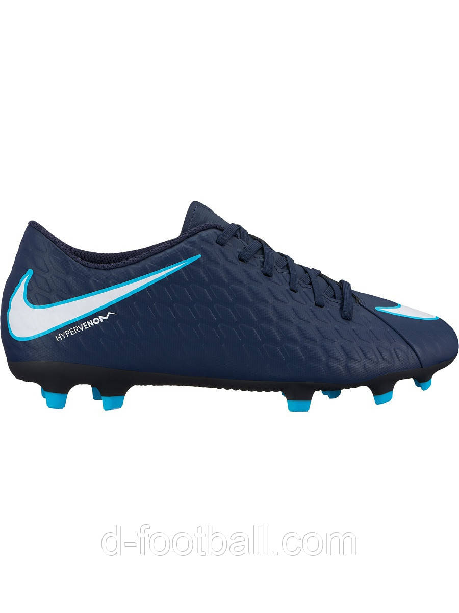 Футбольные бутсы Nike Hypervenom Phade III FG 852547-414 купить ... 4a88e9c7a7fc0
