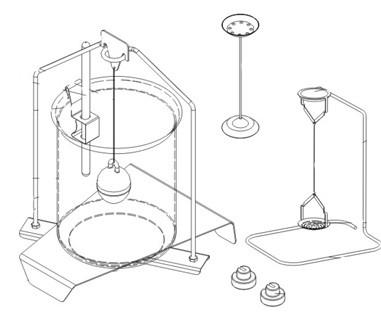 Измерение плотности на лабораторных весах Radwag PS.../C