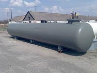 Резервуар подземный для сжиженного газа пропан-бутан объемом 9,15м3 производства VPS, Deltagaz Чехия