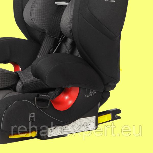 Модель Seatfix Isofix соединение для оптимальной защиты в случае аварии
