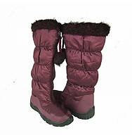 Зимние женские сапоги дутики Размеры 37 - 40