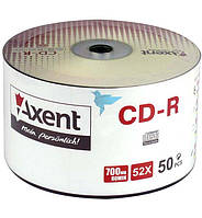 "Диск CD-R ""Axent"" 80min (cake 50)"