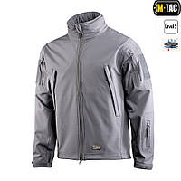 Куртка Soft Shell M-Tac серая