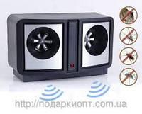 DUAL SONIC PEST REPELLER ультразвуковой электронный отпугиватель грызунов и насекомых (ОПТОМ)